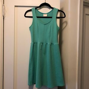 Sea Foam Green Mini Dress
